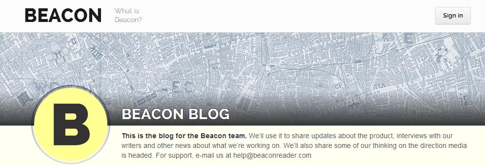 The case of beaconreader