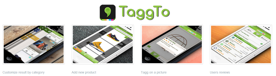 Social ecommerce TaggTo user stream