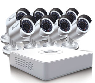 Home business security just got easier with swanns compact multi home business security just got easier with swanns compact multi channel security system solutioingenieria Images