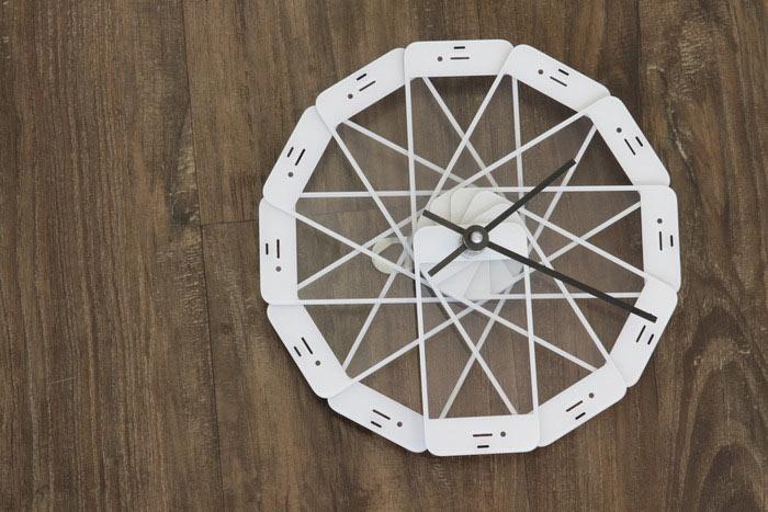 Twice-Used-Clock