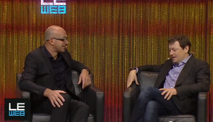 Fred Wilson, Google Glass, LeWeb