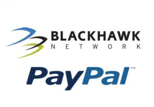 PayPal Blackhawk network