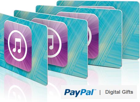 paypal digital gifts
