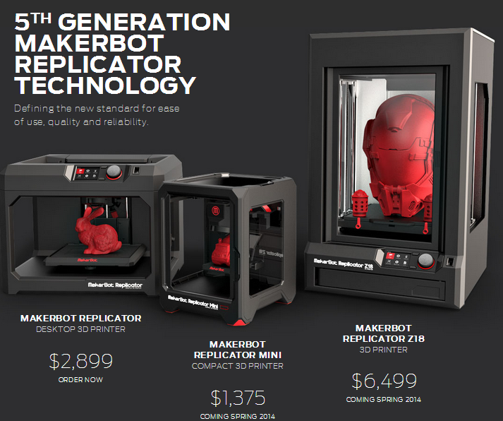 MakerBot Announces 3 New Printers and New Software | TechFaster