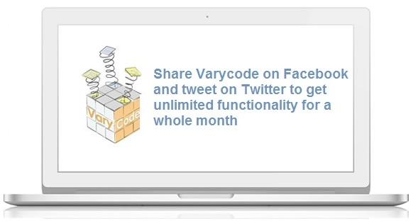 Share VaryCode