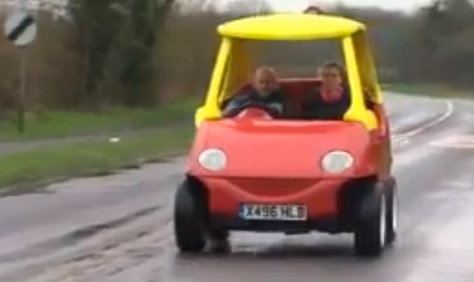 Man Creates Street Legal Little Tykes Car That Goes 70 Mph