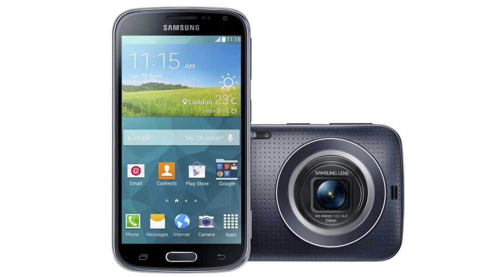 Galaxy K zoom_Charcoal Black_03