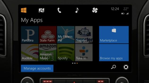 Microsoft, Mirrorlink, Incar