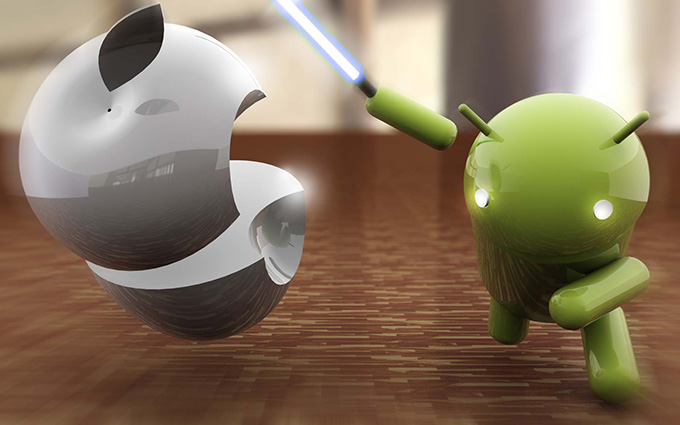 Apple, Android, Google