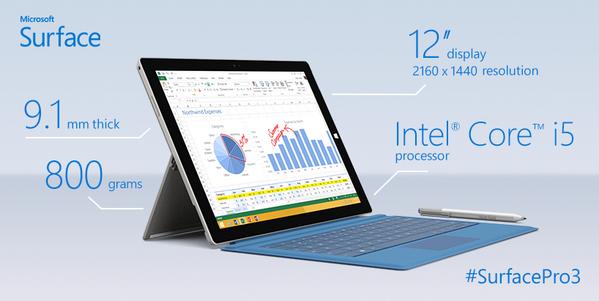 Surface Pro 3 1