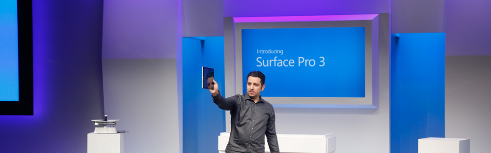 Surface Pro 3 Annoucement