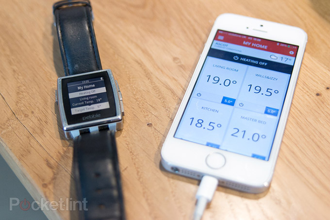 Pebble, Thermostat, Honeywell, Internet of things, Wearable