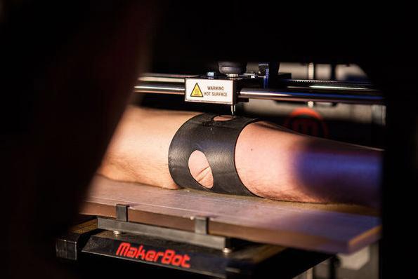 Makerbot, Tattoo, 3D Printing