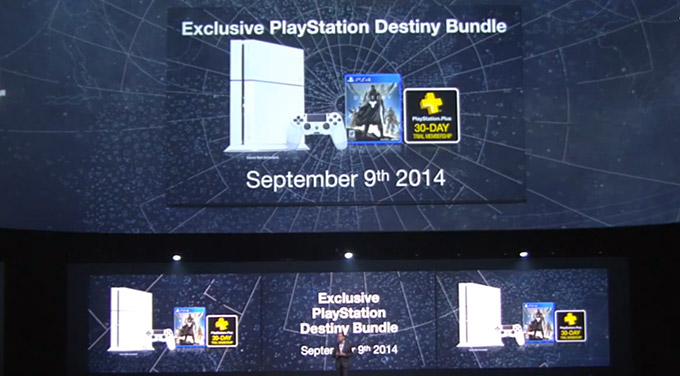 White PS4, E3, Sony, Destiny
