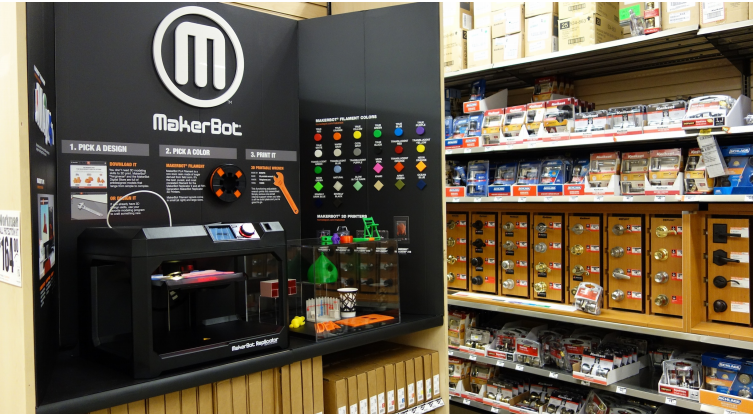 Makerbot Home Depot