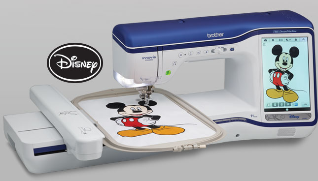 Brother Brought Some Awesome Sewing Machine Tech To CES TechFaster Magnificent Brother Disney Sewing Machine